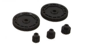 Spur Gear and Motor-pinion