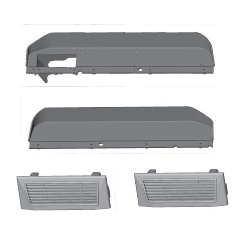 Chassis Guard & Cover For MTA4/M.GT